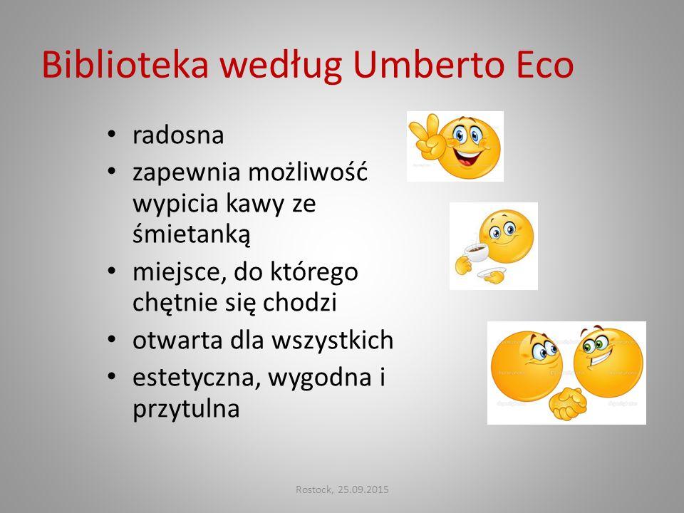 Biblioteka według Umberto Eco