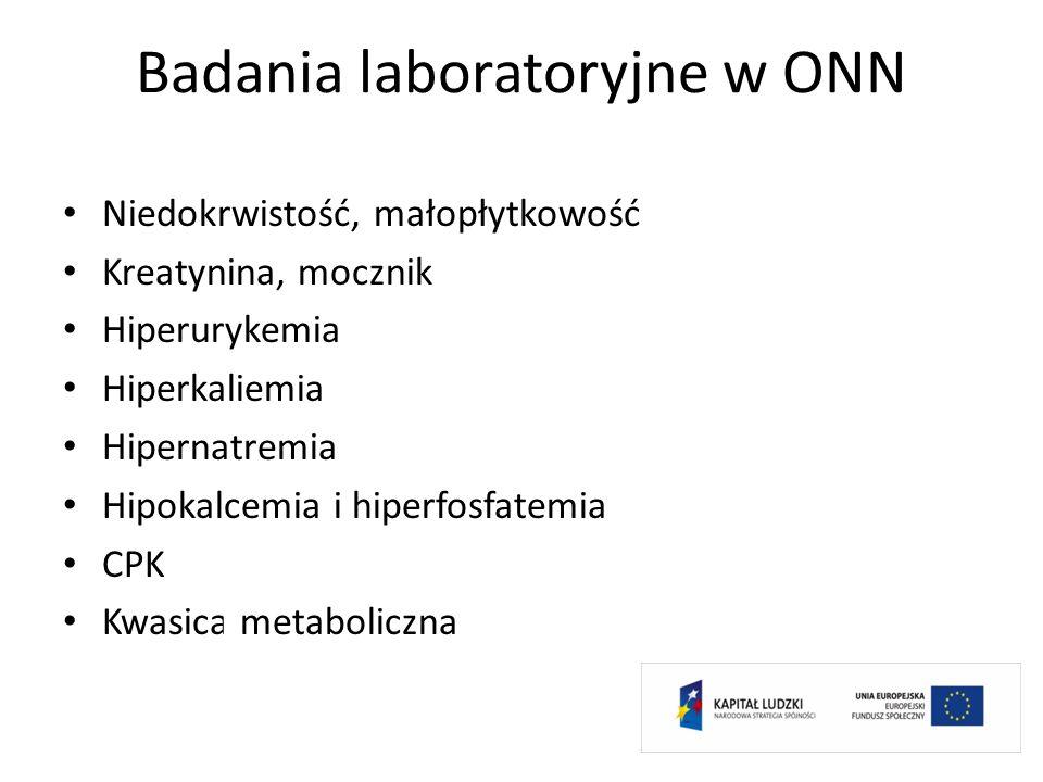 Badania laboratoryjne w ONN