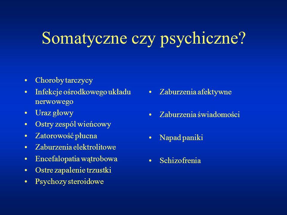 Somatyczne czy psychiczne