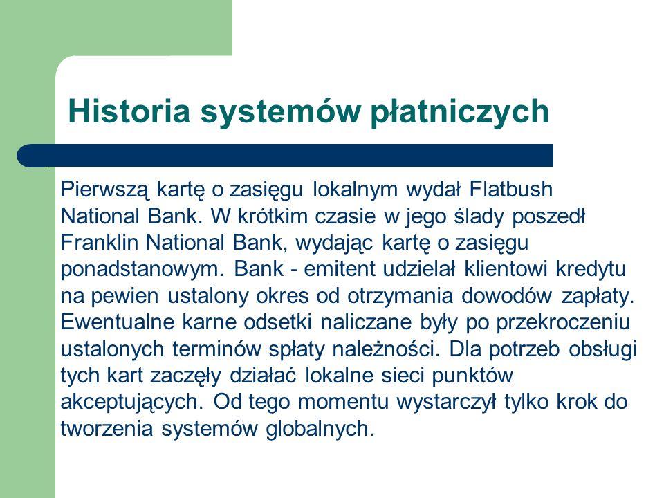 Historia systemów płatniczych