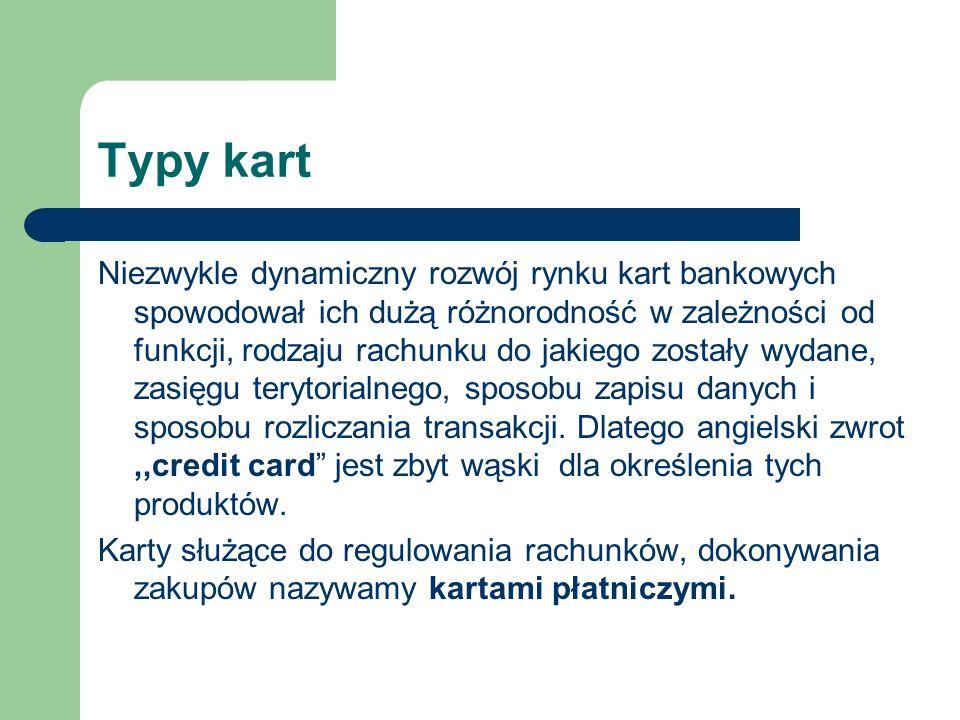 Typy kart