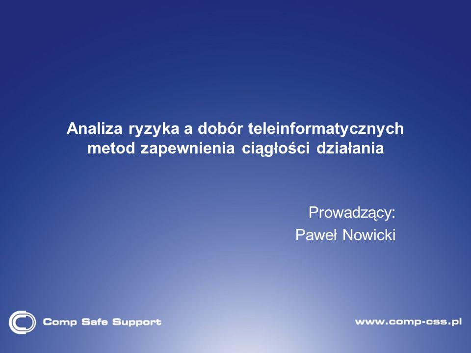 Prowadzący: Paweł Nowicki