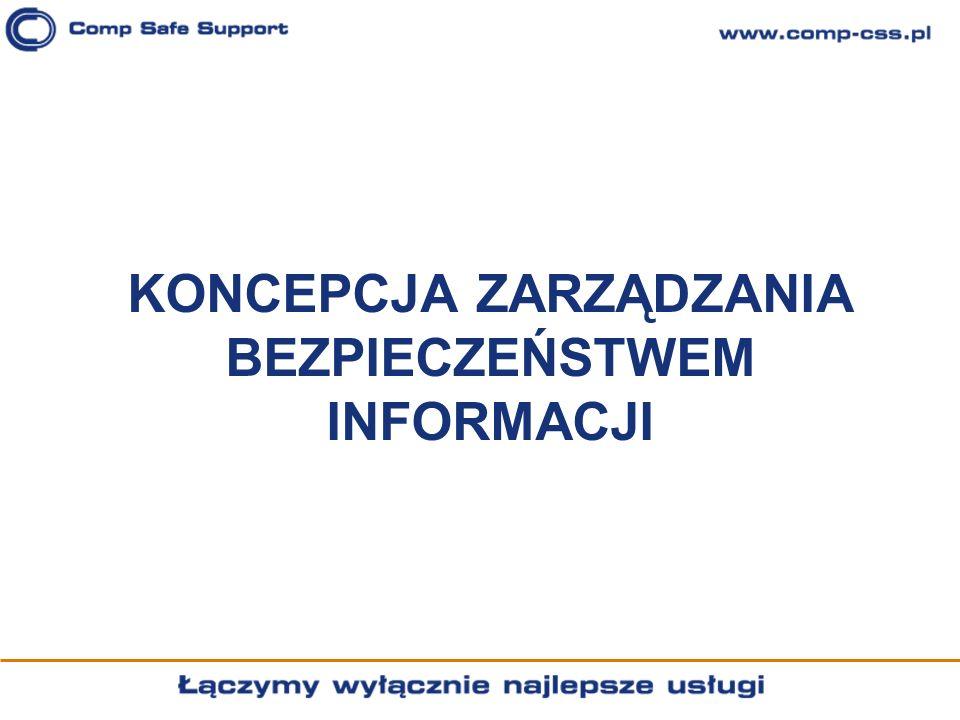 Koncepcja zarządzania bezpieczeństwem informacji