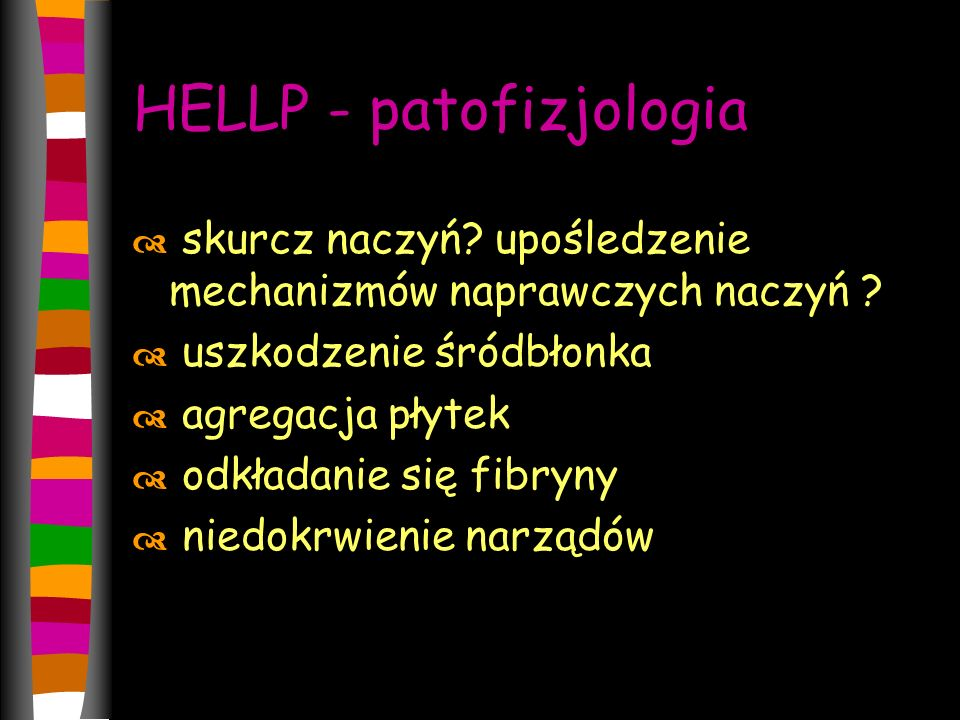 HELLP - patofizjologia