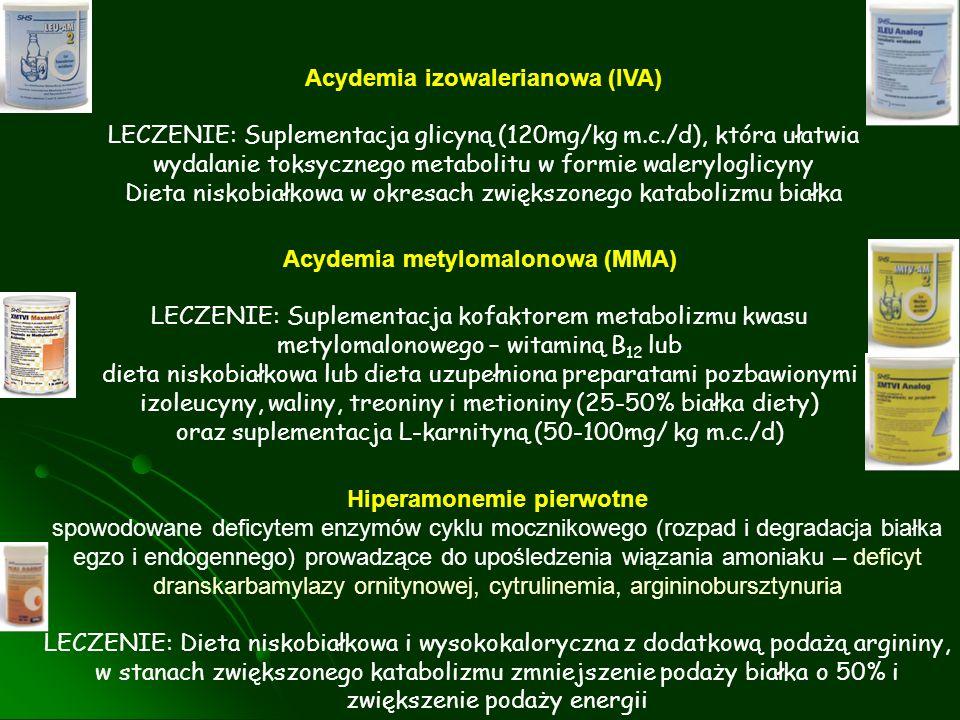 Acydemia izowalerianowa (IVA)