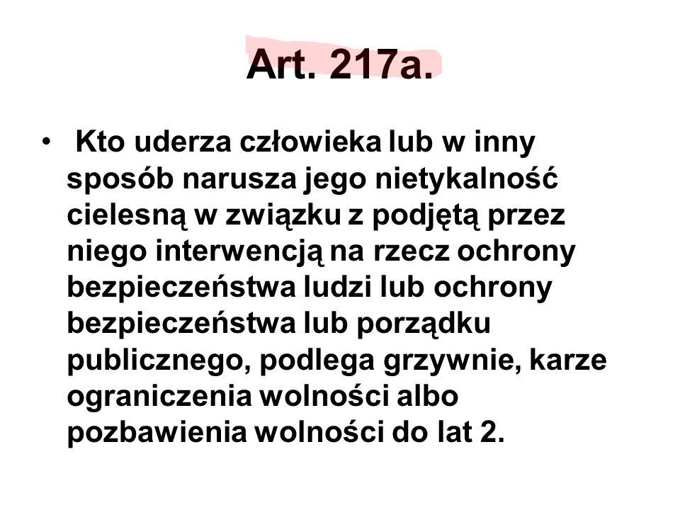 Art. 217a.