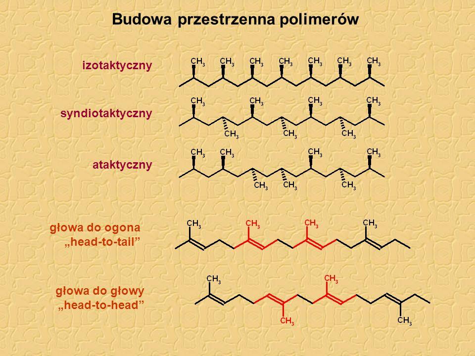 Budowa przestrzenna polimerów