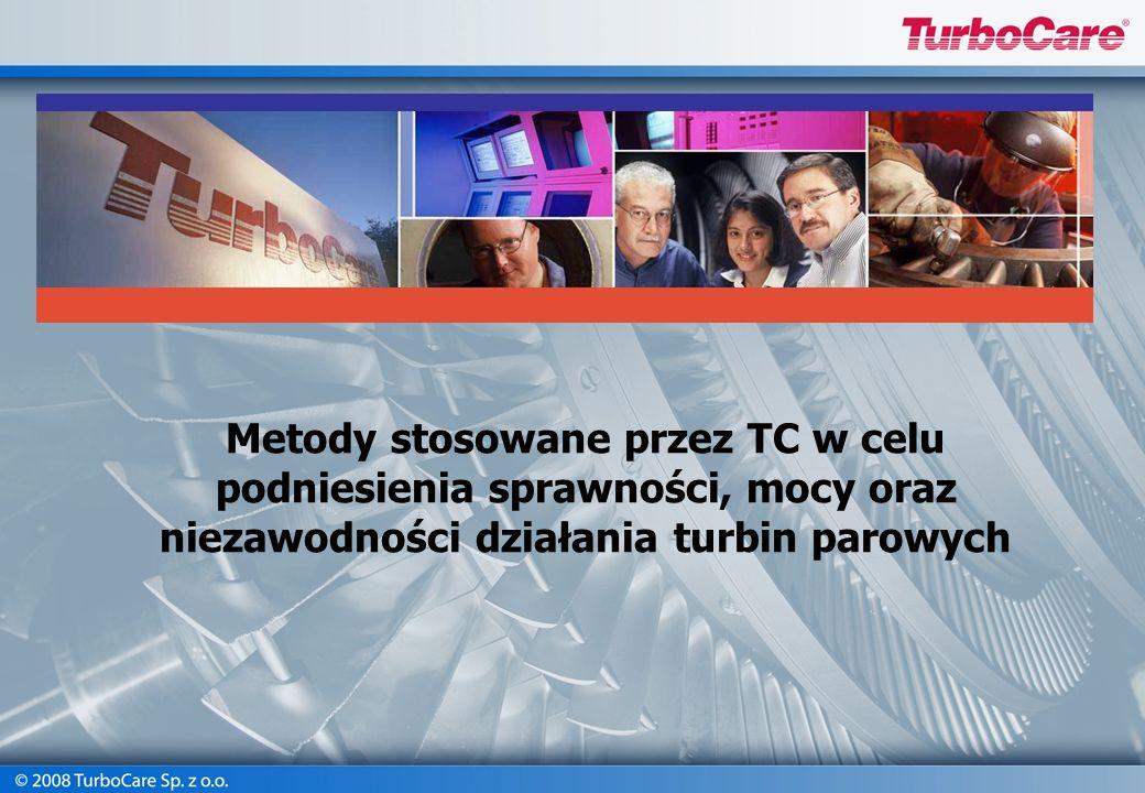 Metody stosowane przez TC w celu podniesienia sprawności, mocy oraz