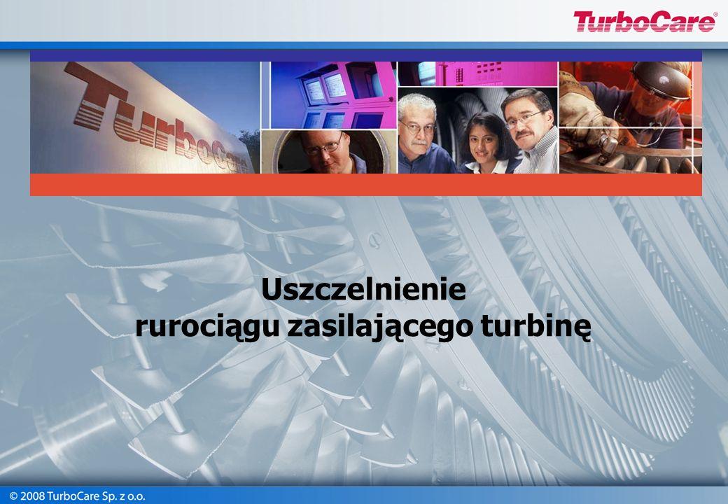 rurociągu zasilającego turbinę