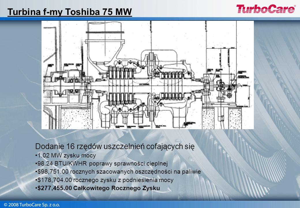 Turbina f-my Toshiba 75 MW