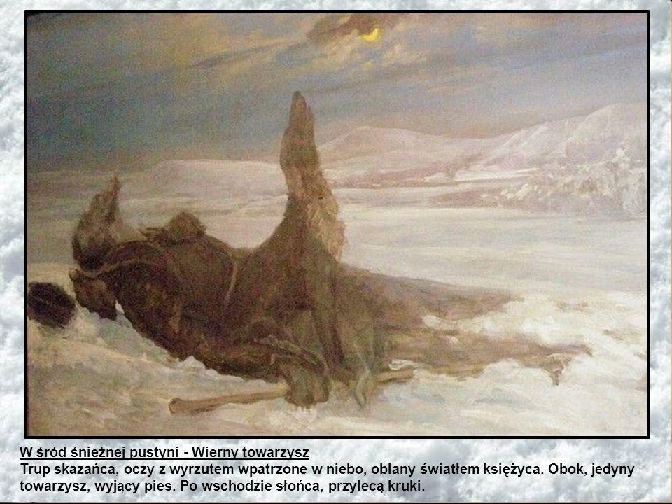 W śród śnieżnej pustyni - Wierny towarzysz