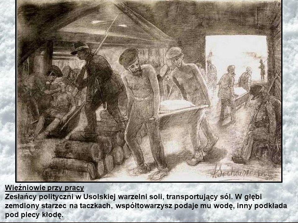 Więźniowie przy pracy