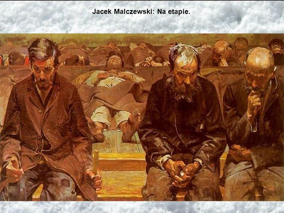 Jacek Malczewski: Na etapie.