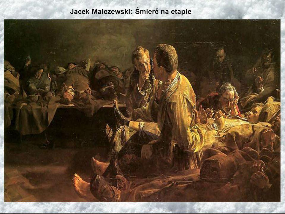 Jacek Malczewski: Śmierć na etapie