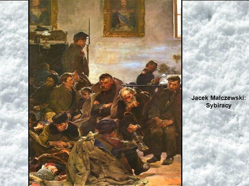 Jacek Malczewski: Sybiracy
