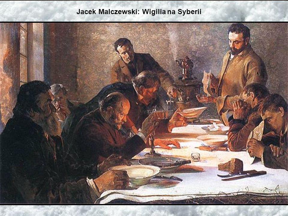 Jacek Malczewski: Wigilia na Syberii