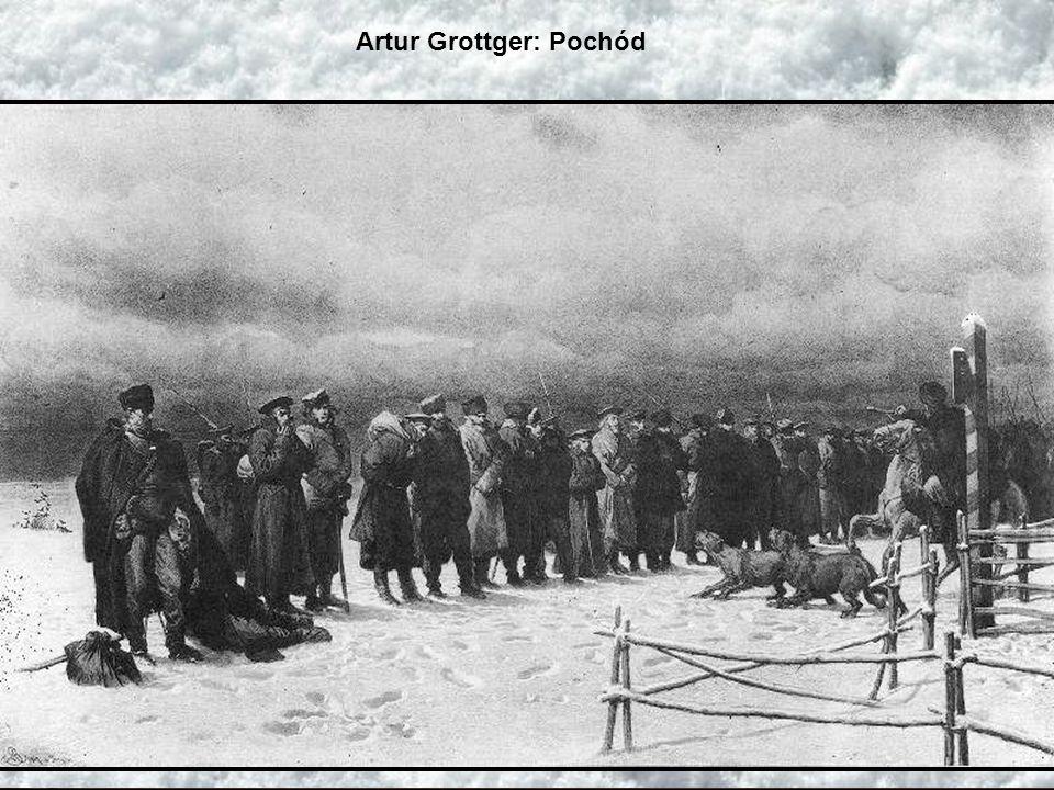 Artur Grottger: Pochód