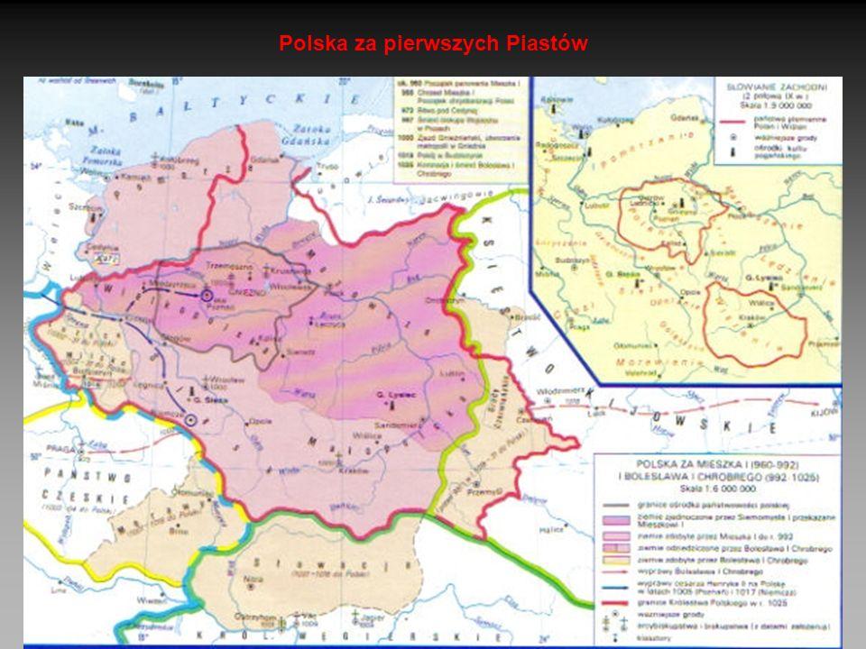 Polska za pierwszych Piastów