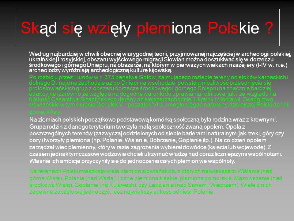 Skąd się wzięły plemiona Polskie