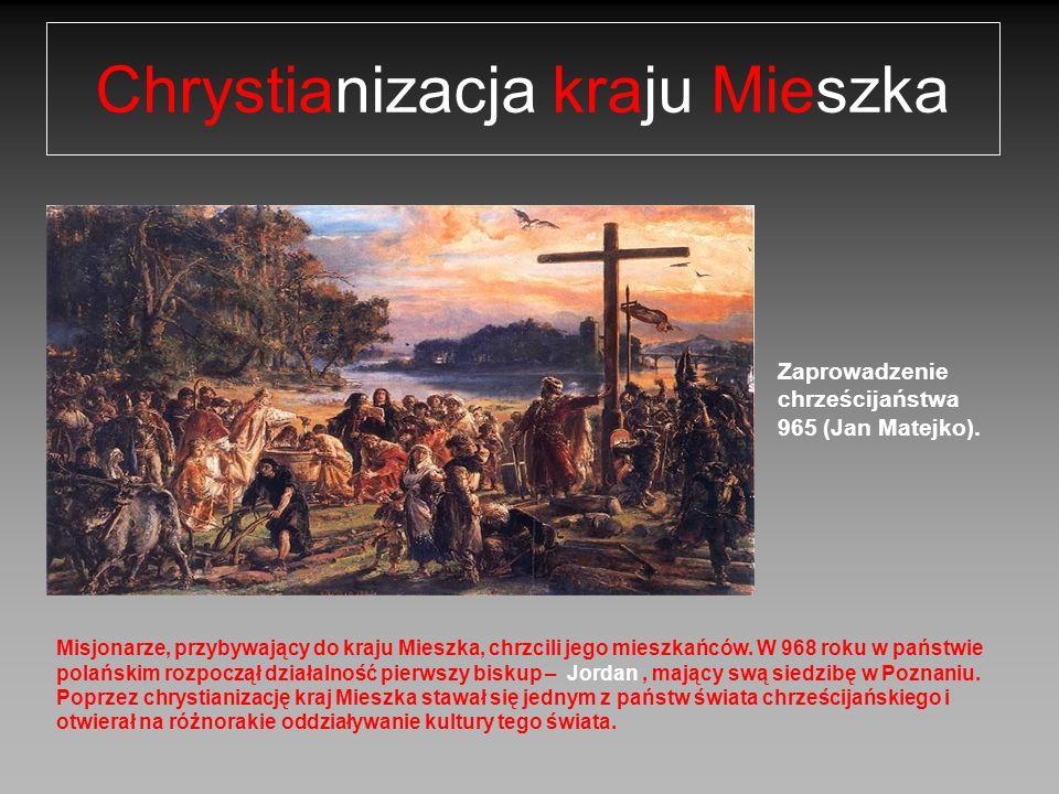 Zaprowadzenie chrześcijaństwa 965 (Jan Matejko).