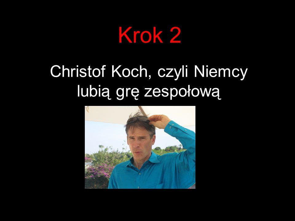 Christof Koch, czyli Niemcy lubią grę zespołową