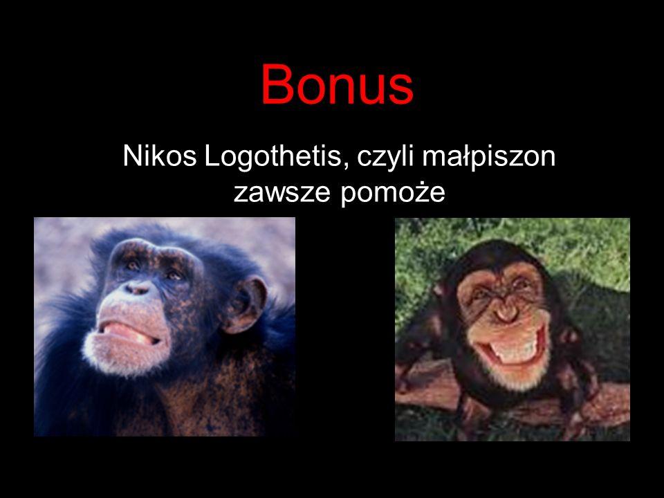 Nikos Logothetis, czyli małpiszon zawsze pomoże