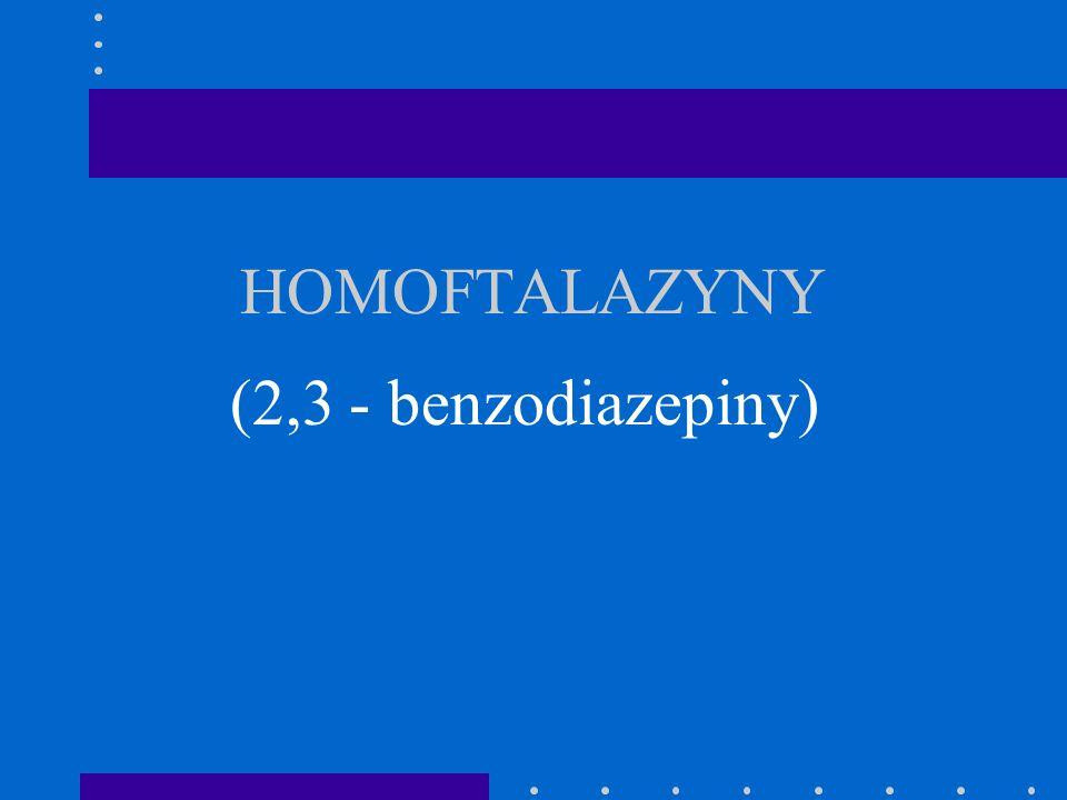 HOMOFTALAZYNY (2,3 - benzodiazepiny)