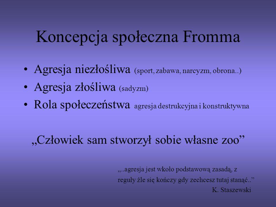 Koncepcja społeczna Fromma