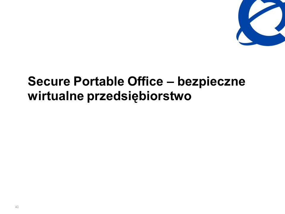 Secure Portable Office – bezpieczne wirtualne przedsiębiorstwo