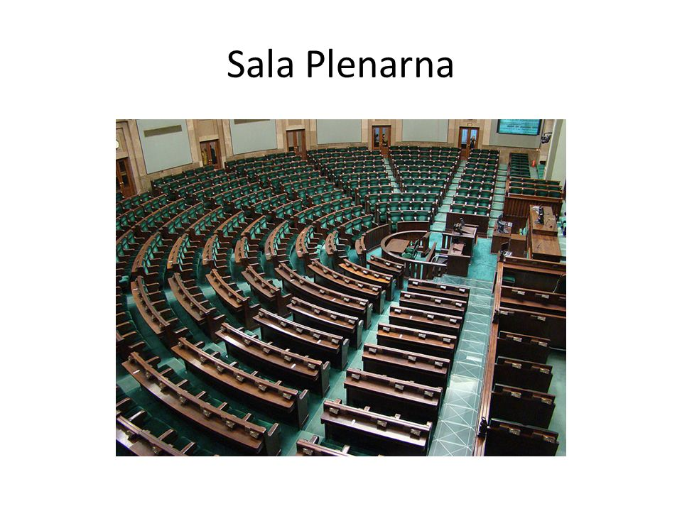 Sala Plenarna