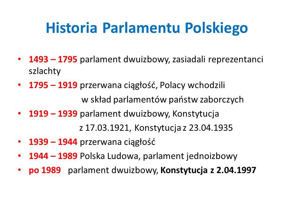 Historia Parlamentu Polskiego