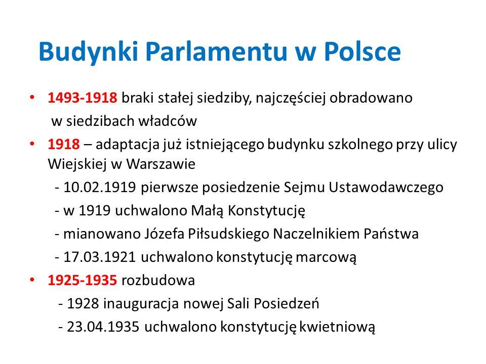 Budynki Parlamentu w Polsce