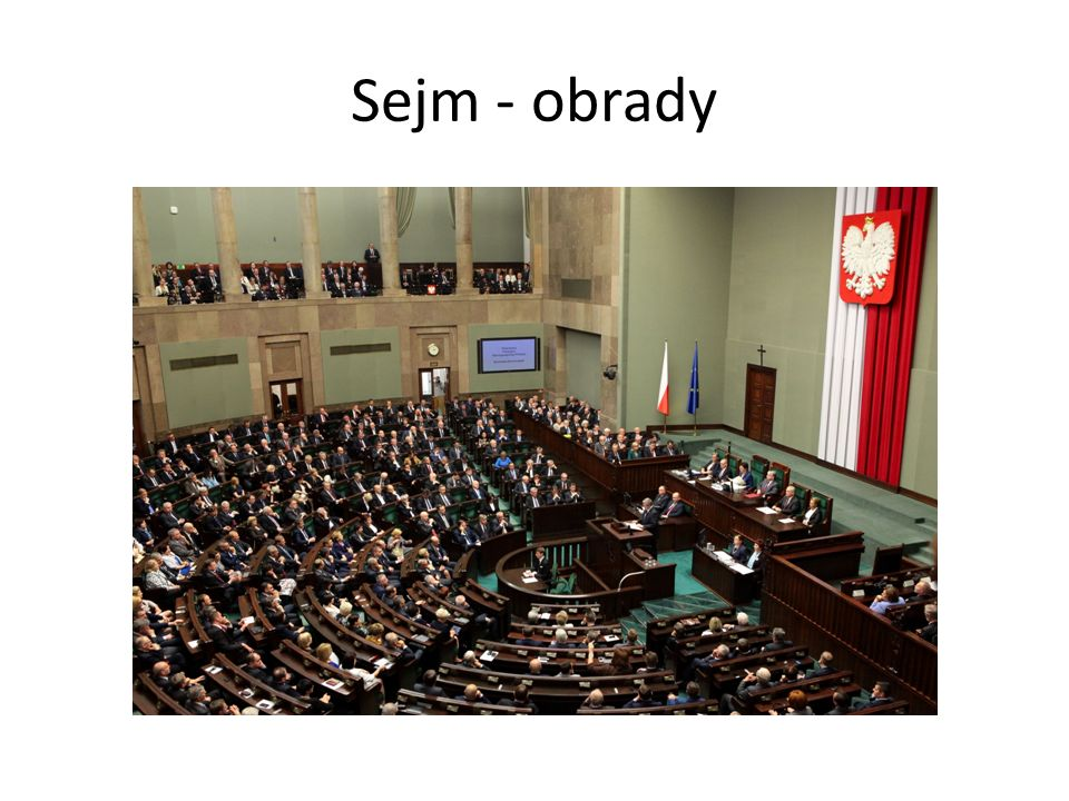 Sejm - obrady