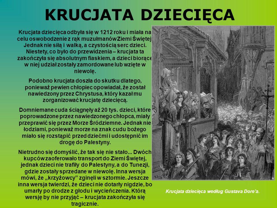 Krucjata dziecięca według Gustava Dore'a.