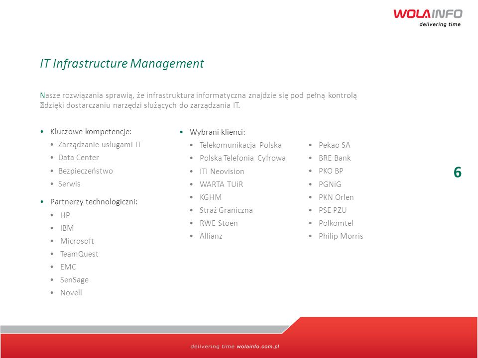 6 IT Infrastructure Management