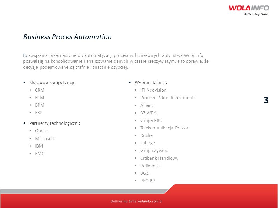 3 Business Proces Automation
