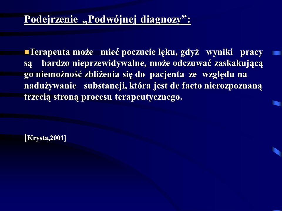 """Podejrzenie """"Podwójnej diagnozy :"""