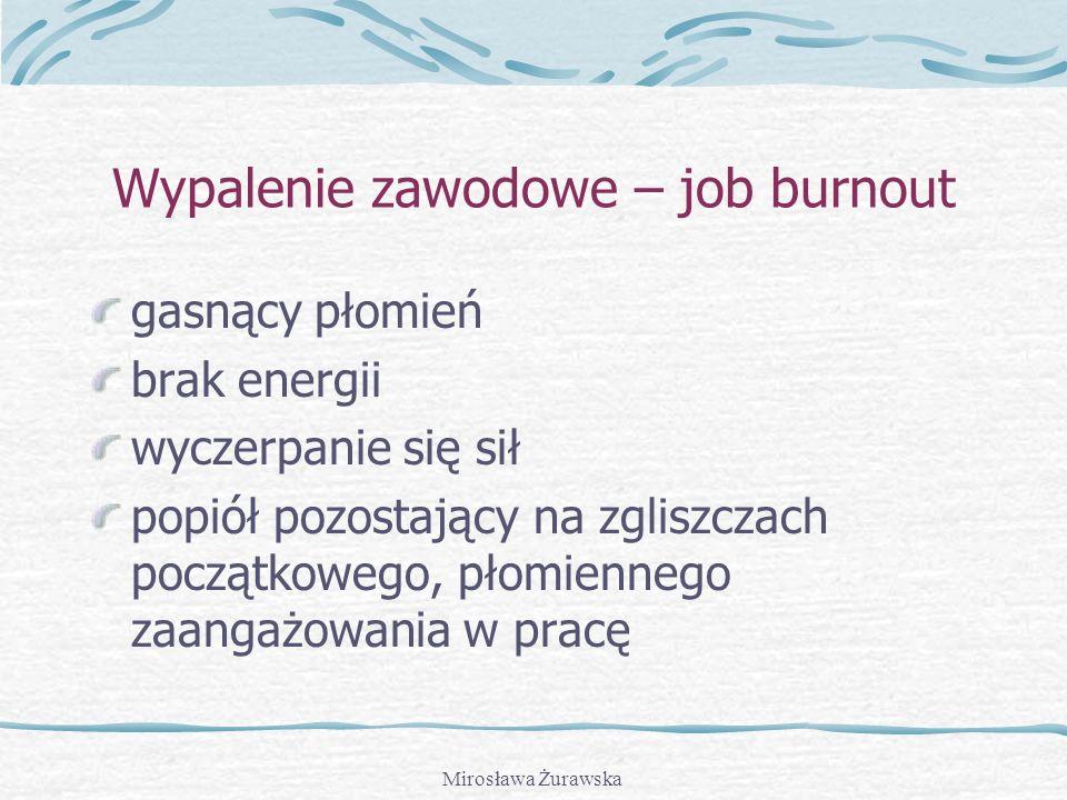 Wypalenie zawodowe – job burnout