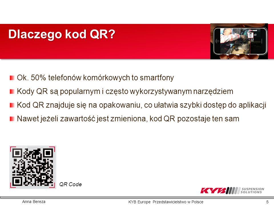 Dlaczego kod QR Ok. 50% telefonów komórkowych to smartfony