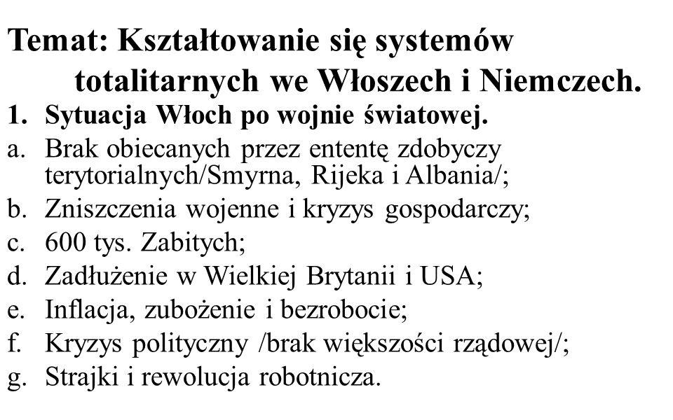 Temat: Kształtowanie się systemów