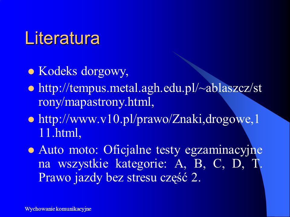 Literatura Kodeks dorgowy,
