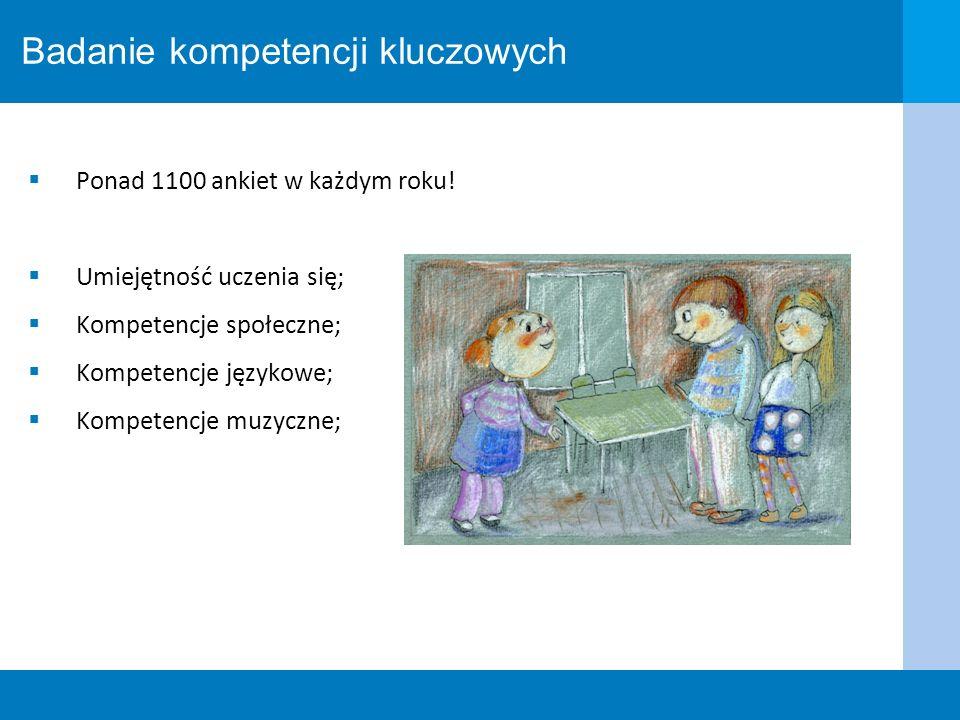 Badanie kompetencji kluczowych
