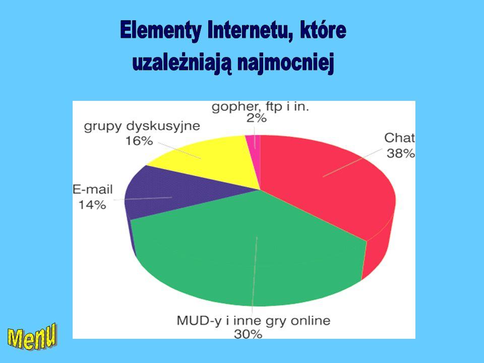 Elementy Internetu, które