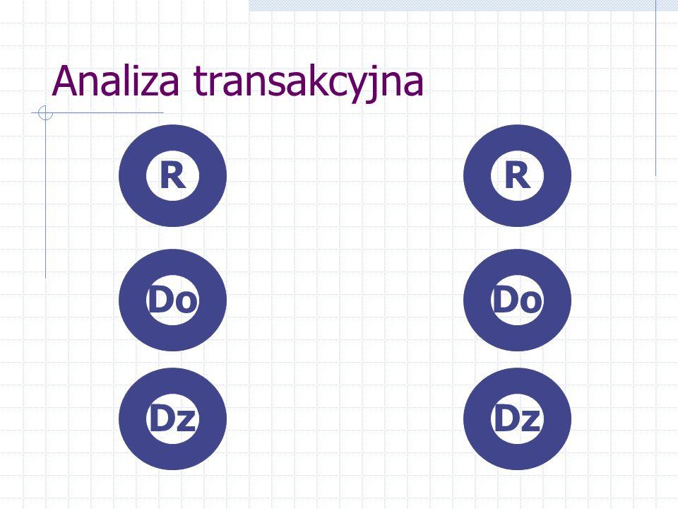 Analiza transakcyjna R R Do Do Dz Dz
