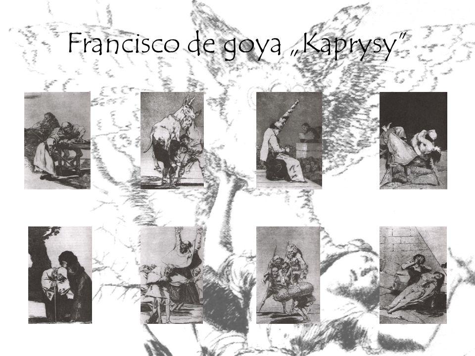 "Francisco de goya ""Kaprysy"