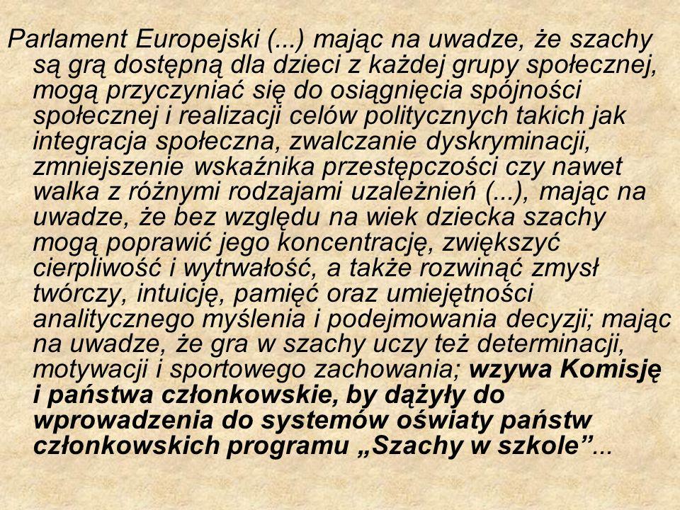 Parlament Europejski (