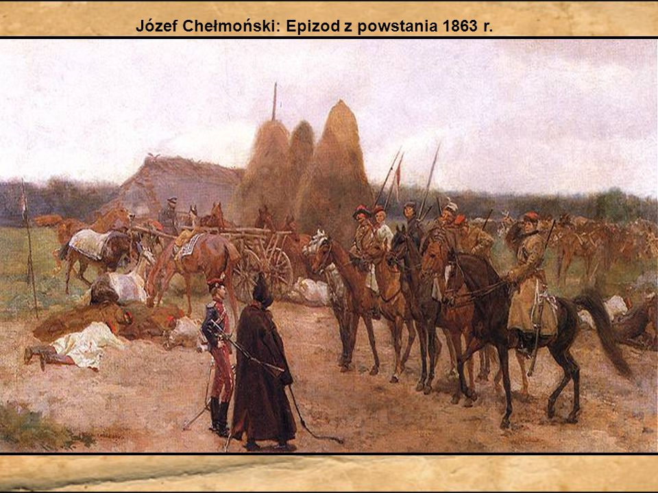 Józef Chełmoński: Epizod z powstania 1863 r.