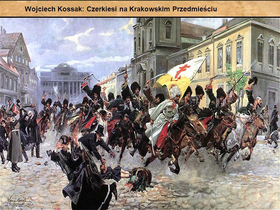 Wojciech Kossak: Czerkiesi na Krakowskim Przedmieściu