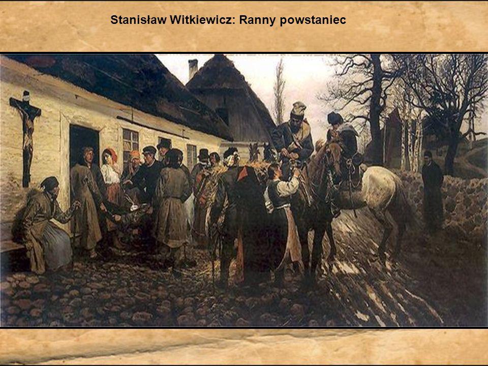 Stanisław Witkiewicz: Ranny powstaniec