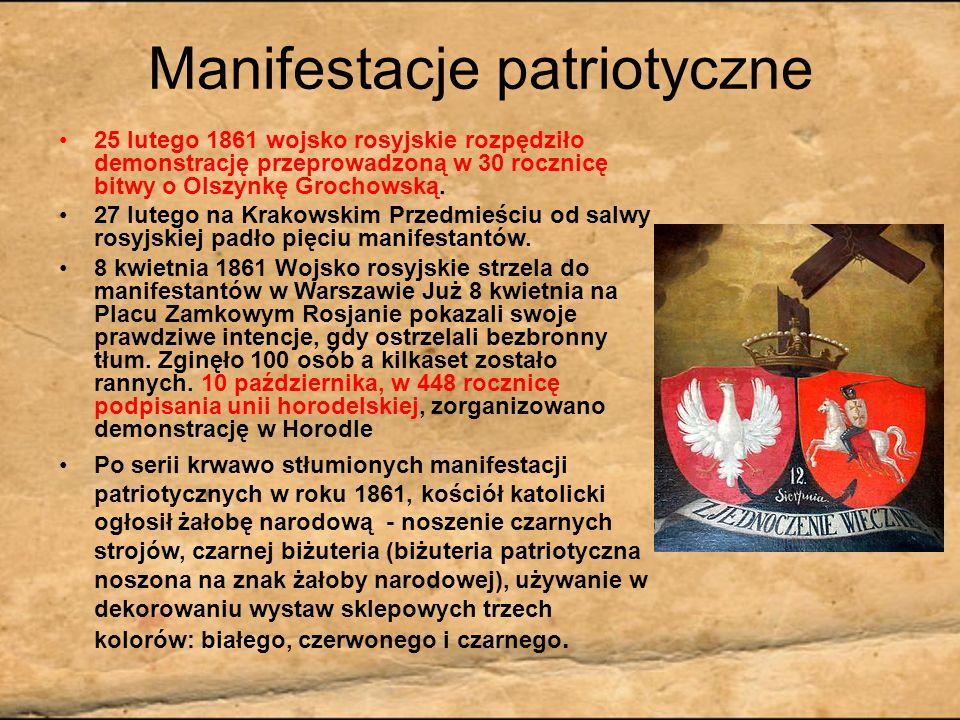 Manifestacje patriotyczne
